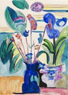 Ernst Ludwig Kirchner - Stillleben mit Calla