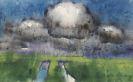 Emil Nolde - Sommerwolken über der Marsch