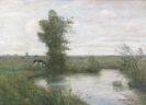 Modersohn, Otto - Landschaft mit Weiher