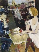 Franz Xaver Fuhr - Im Café