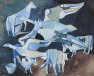 Heinrich Campendonk - Kühe und Gänse