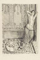 Henri Matisse - Odalisque debout au plateau de fruits