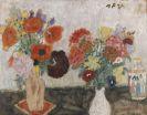 Max Peiffer Watenphul - Blumen mit chinesischer Vase