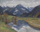 Otto Modersohn - Hinterstein vom Wasser