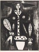 Pablo Picasso - Femme au Fauteuil (d'après le noir)
