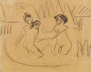 Ernst Ludwig Kirchner - Drei badende Akte an den Moritzburger Seen