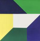 Anton Stankowski - Sechs gleiche Formen grün