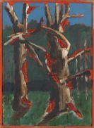 Lüpertz, Markus - Im Angesicht des Malers Courbet