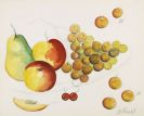 Fernando Botero - Nature Morte aux Fruits