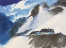 Nolde, Emil - Schweizer Berglandschaft im Winter