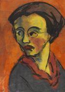 Emil Nolde - Frauenporträt - Johanna Schiefler