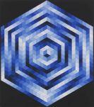 Victor Vasarely - Kriss-Kék