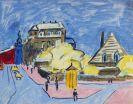 Ernst Ludwig Kirchner - Strassenbild (Dresden)