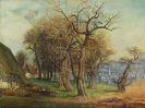 Otto Dix - Alte Birnbäume in Hemmenhofen