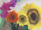 Nolde, Emil - Sonnenblumen