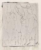 Pablo Picasso - Picador, Femme et Cheval (épreuve rincée)