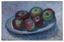 Alexej von Jawlensky - Teller mit Äpfeln (Äpfelstillleben)