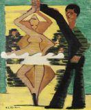 Ernst Ludwig Kirchner - Drehende Tänzerin