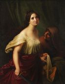 Adolf Gottlob Zimmermann - Judith mit dem Haupt des Holofernes