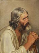 Adolf Gottlob Zimmermann - Büßerportrait