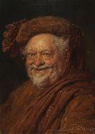 Eduard von Grützner - Falstaff