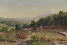 Peder (Peder Mørk Mønsted) Mönsted - Griechische Landschaft mit Weinbergen