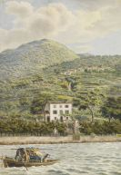 Heinrich Adam - Die Villa Artaria am Comer See