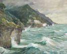 Edward Cucuel - Blick auf Amalfi