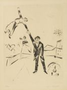 Marc Chagall - Der Spaziergang I