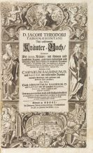Jacob Theodor Tabernaemontanus - Kräuter-Buch. 3 Teile in 2 Bänden