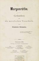 Friedrich Nietzsche - Morgenröthe