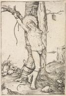 Lucas van Leyden - Hl. Magdalena in den Wolken. - Hl. Sebastian. - St. Christopherus