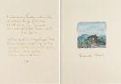 Hermann Hesse - Gedichtmanuskript