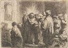 Harmensz. Rembrandt van Rijn - Zinsgroschen