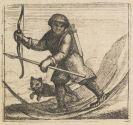 La Martiniere, Pierre-Martin de - Voyage des pais septentrionaux, dabei: Martiniere, Nordischen Landschaften, zus. 2 Bände.