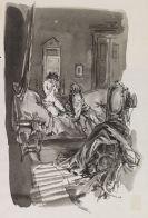 Busch, Wilhelm Martin - 19 Tuschzeichnungen zu Madame Bovary