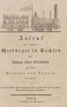Friedrich List - Aufruf an unsere Mitbürger in Sachsen
