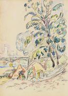 Paul Signac - An der Pariser Seine