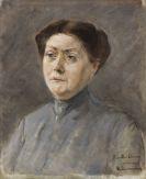 Liebermann, Max - Bildnis der Schauspielerin Else Lehmann
