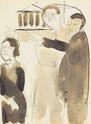 Ernst Ludwig Kirchner - Straßenszene