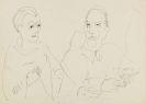 Ernst Ludwig Kirchner - Erna Schilling und Dr. Hagemann