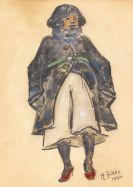 Heinrich Zille - Mädchen