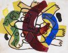 Fernand Léger - Les Plongeurs