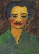 Nolde, Emil - Frauenporträt