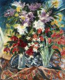 Franz Heckendorf - Großes Blumenstillleben