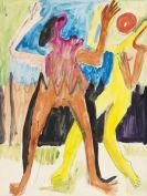 Ernst Ludwig Kirchner - Ballspielendes Paar