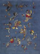 Wassily Kandinsky - Nach - Bleu de ciel