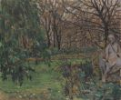 Moll, Oskar - Jardin du Luxembourg II