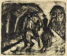 Ernst Ludwig Kirchner - Reiter im Grunewald