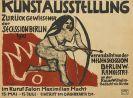 Hermann Max Pechstein - Plakat: Kunstausstellung Zurückgewiesener der Secession Berlin